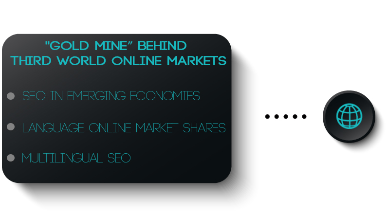 """Gold Mine"" behind Third World online markets"